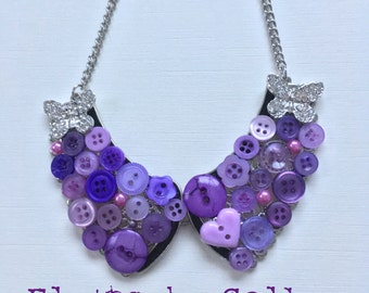 Flutterby  Collar Necklace