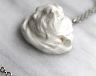 White Frosting Necklace