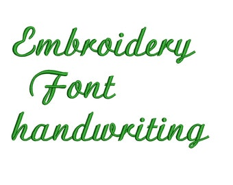 Machine Embroidery Font Designs Letters Numbers Symbols Alphabet 0.5, 1 & 1.5 inch Sizes