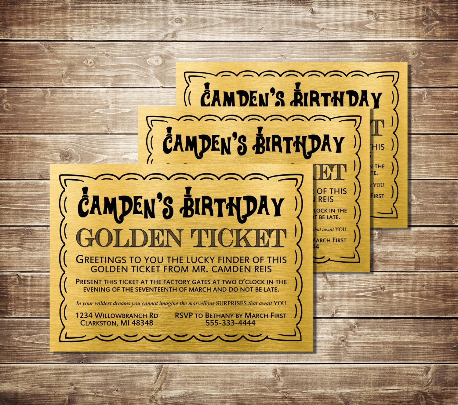 It's just a photo of Eloquent Printable Golden Tickets