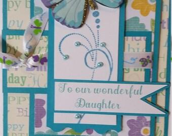 Handmade Happy Birthday Daughter