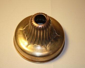 Vintage ( Chandelier ) Light Fixture Brass Canopy