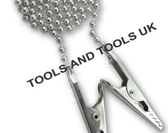 Set di 10 Portasalvietta Dentistico Rubinetto Clip Flessibile Sfera 25.4cm