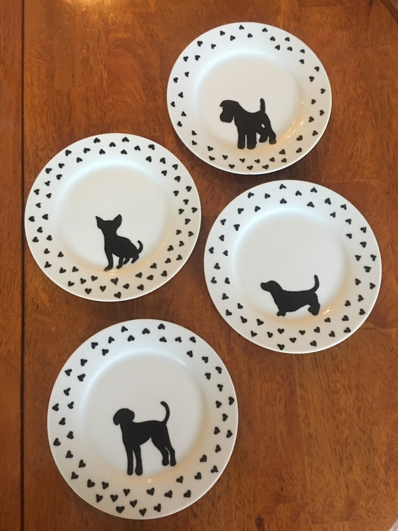 Puppy love plate set