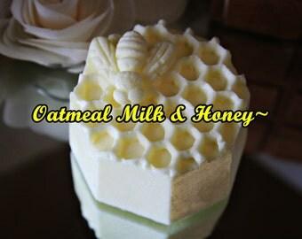 Oatmeal Milk And Honey Handmade Soap Bars~