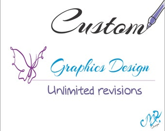 Special Custom Design Logo, Modern Graphic Design, Graphic Design Services, Custom Graphic Design, Logo Redesign Services