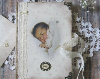 Sweet dream baby diary, baby journal, maternity journal, baby shower gift,  baby shower guest book, pregnancy journal, pregnancy diary