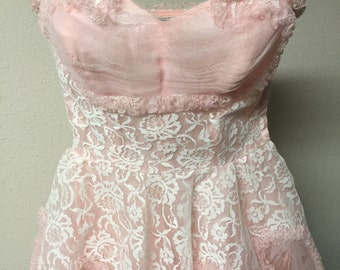 1950s vintage party/prom dress xs/small