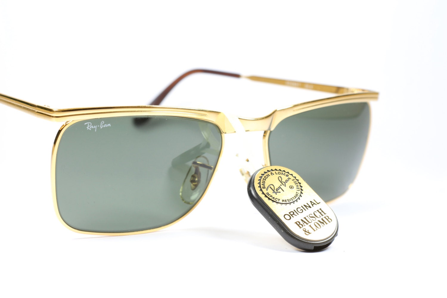 a4d56771205 Ray Ban Gold 14k Series Bausch   Lomb