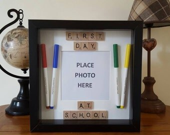 First Day at School Memory Frame