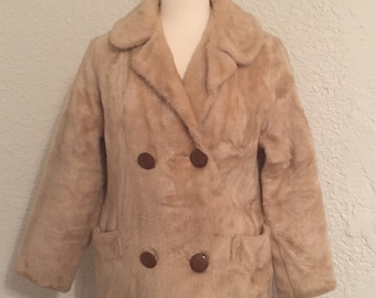 Vintage Faux Fur Coat