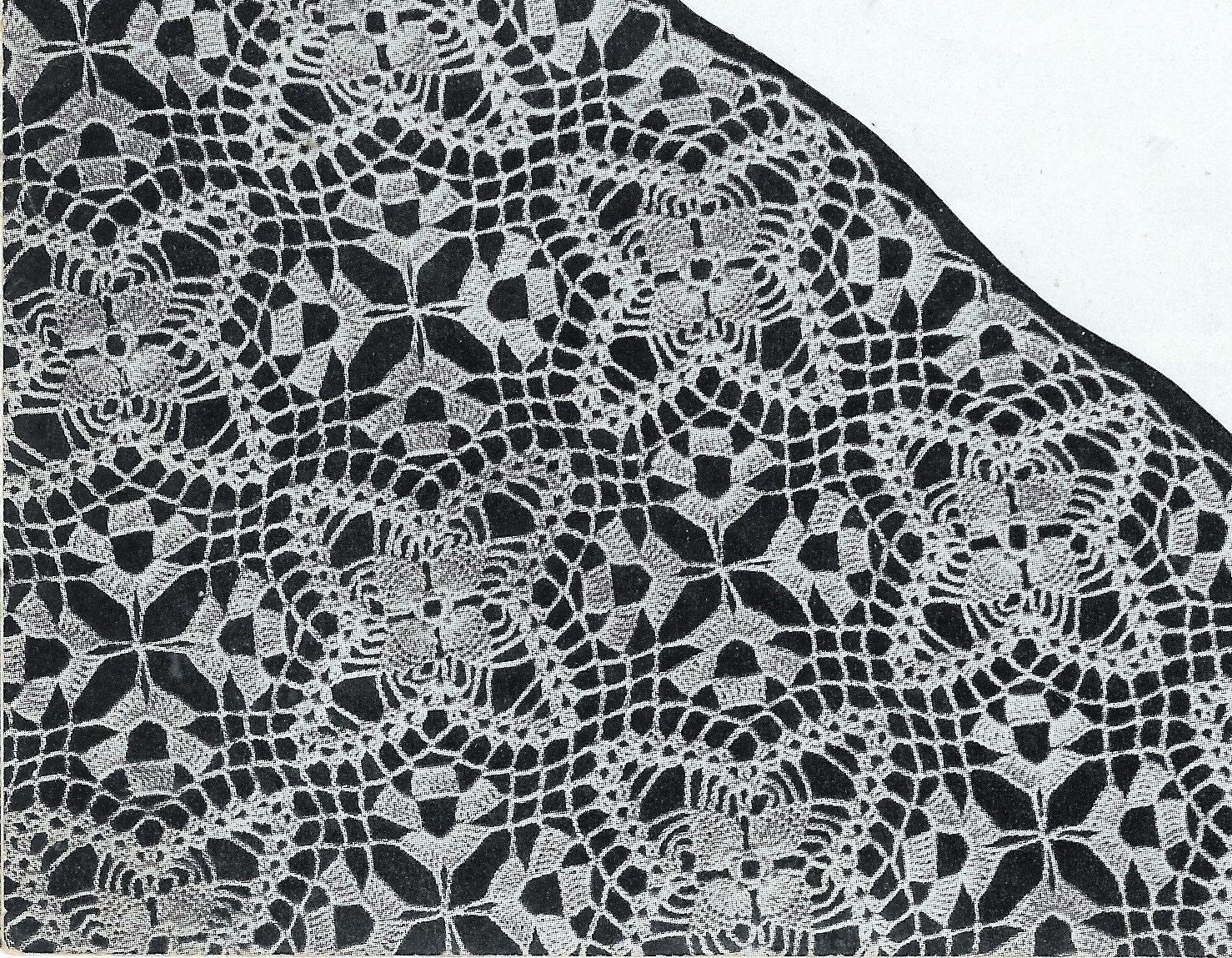 Crochet tablecloth pattern square motif lace crochet zoom bankloansurffo Gallery