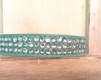 Rhinestone Dog Collar  (Medium and Large)