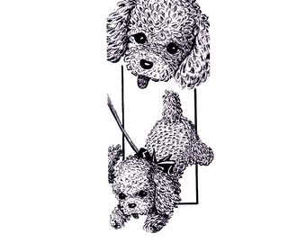 Instant PDF Download Vintage Crochet Pattern to make a Cute Puppy Dog Stuffed Plush Soft Body Toy Animal