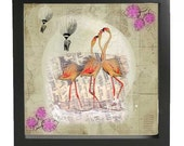 2 prints discount offer 50 GBP - Flamingoes, flying elephants, horses in colours, hugs, love and rainbows