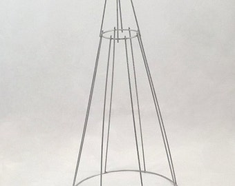 Topiary metal wire frame CONE 100cm
