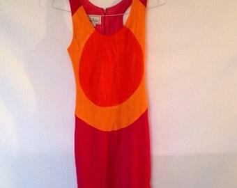 Vintage Nicole Miller Body Con Mini Dress