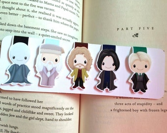 REDUCED TO CLEAR Wizard Mini Magnetic Bookmarks Set Two