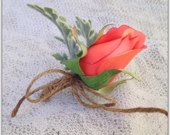 Boutonniere, single flower.