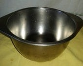 RevereWare Vintage Stainless Steel Double Boiler Insert For 7 inch 3 Quart 1801 Revere Copper Clad Pan
