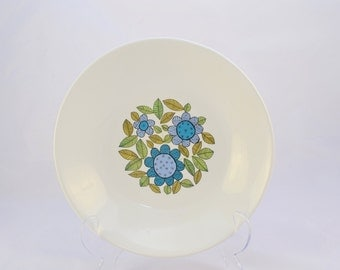 J & G Meakin 'Topic' small plate from the 1960s, Alan Rogers design