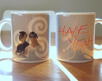 """Mug """"HALE YEAH"""" - Teen Wolf / Derek Hale / Peter Hale / Tyler Hoechlin / Ian Bohen"""