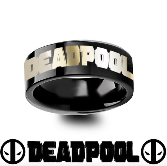 Deadpool Tungsten Ring