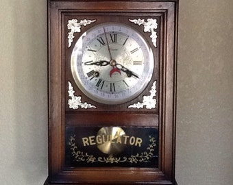 Vintage wall clock, 30 day, aloron
