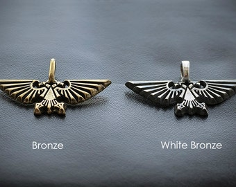 The Imperial Aquila pendant inspired by Warhammer 40k game
