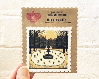 Miniprint: Ice Skaters