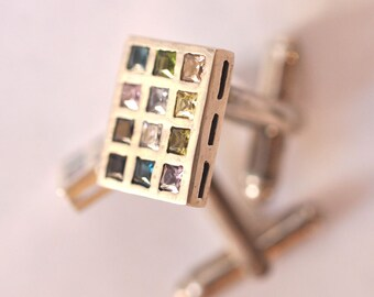 twelve tribes sterling silver cuff links