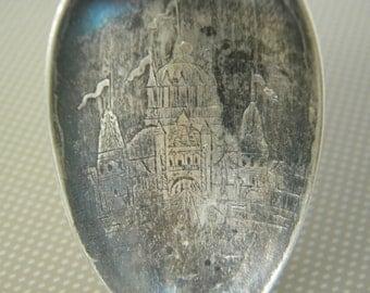 Antique Sterling Sioux City Souvenir Spoon