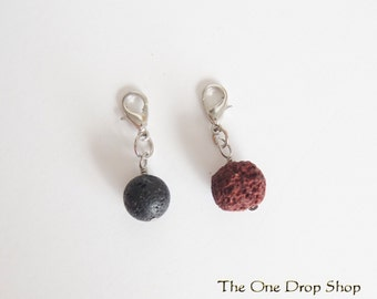 Lava Rock Essential Oil Charm Add-on, Free Shipping