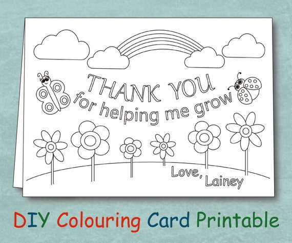 Striking image for teacher appreciation cards free printable