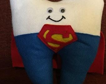 Superhero Tooth Fairy Pillow