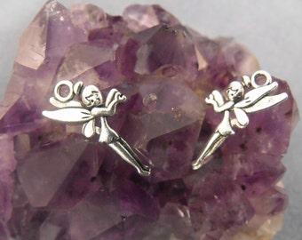 Tibetan Silver Fairy Pixie Charms