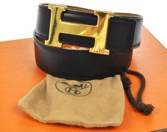 Authentic Vintage Hermes Constance Belt