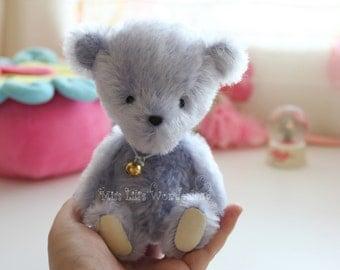 "Artist Bear ""Bluebell""- Teddy bear OOAK 6.7"""