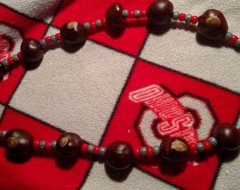 14 ct buckeye necklace #006