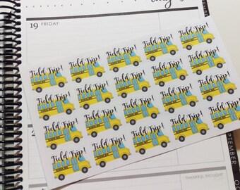Field Trip School Stickers