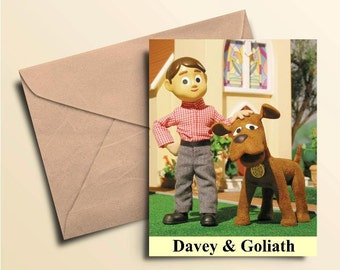 Davey & Goliath Note Cards - Boxed Set of 10 With Envelopes