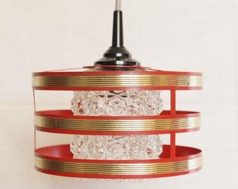 Lamp, hanging lamp 60s, mid century
