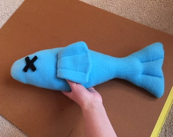 Dead Fish Plush - Fursuit/Cosplay Prop