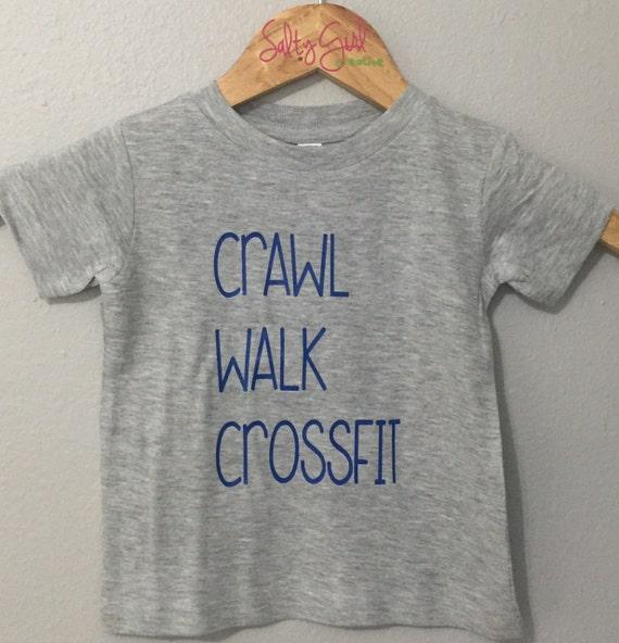 Crossfit Kid Toddler Tee | Crossfit Humor | Toddler Tee