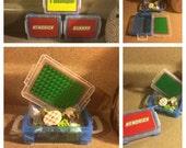 Personalized Travel Lego Box - Stocking Stuffers!