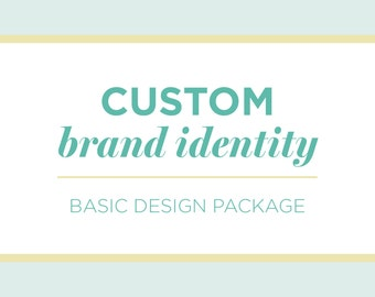 Basic Branding Package | Business Branding | Custom Brand Identity Design | Logo Design