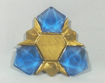 Legend of Zelda inspired Zora's Sapphire spiritual stone prop