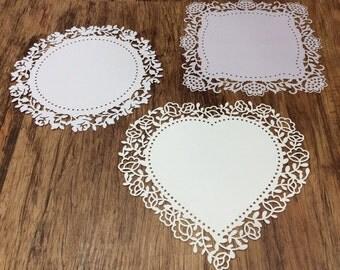 Scrapbook Embellishment Lace Paper