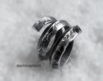 spiral ring, ring snake, handmade rings, women rings, ring hammered, hammered rings, female rings, jewelry, rings, handmade rings,