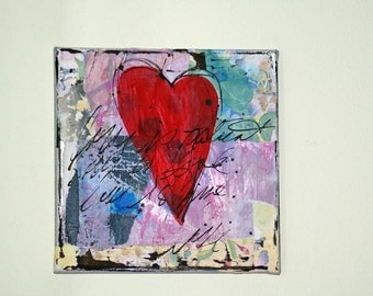 Mixed Media Painting, Original Acrylic Art, Wall Art, Abstract Art, Featured in Somerset Studio Gallery